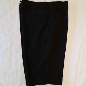 EUC cuffed Bermuda shorts